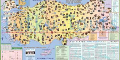 La turquie attraction carte